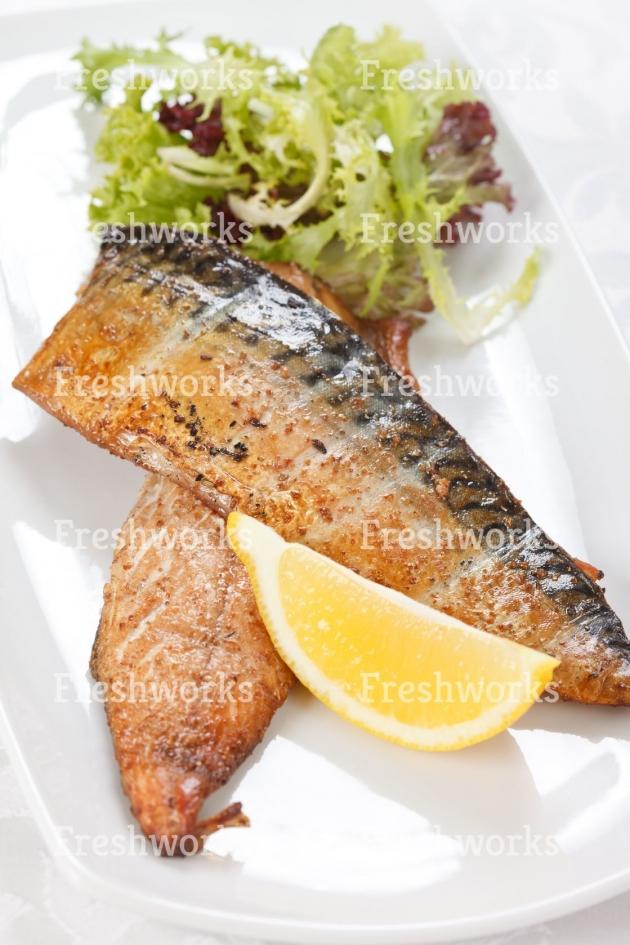 挪威薄鹽鯖魚片 1