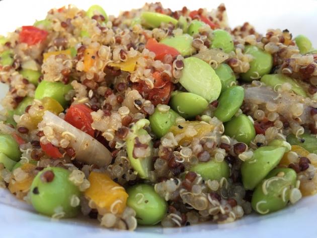 輕食舒活-藜麥毛豆 1